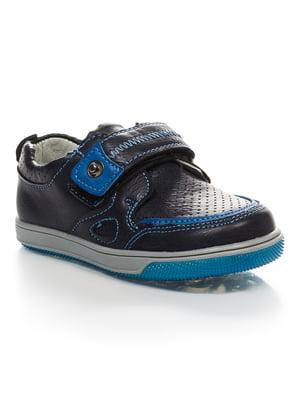Туфлі темно-сині | 4403205