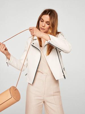 Куртка белая   4440555
