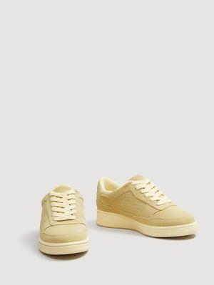 Кроссовки желтые | 4440693