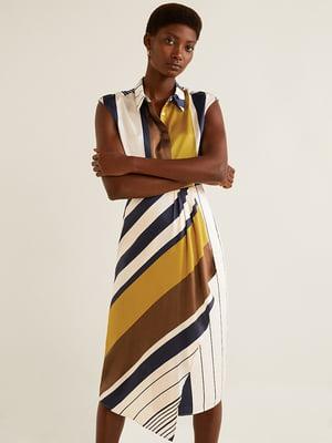 Платье в полоску   4454050