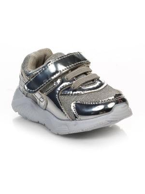 Кроссовки серебристые | 4403187