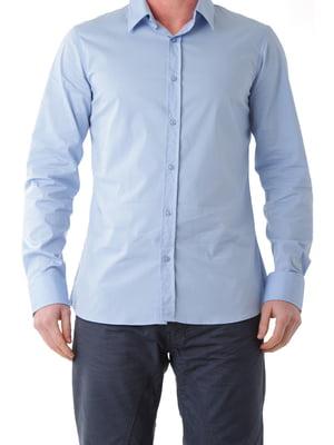 Рубашка голубая | 4412835