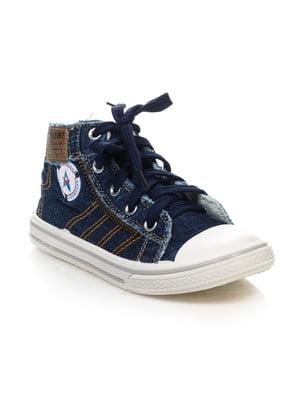 Кеды синие | 4410436