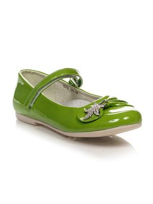 Туфлі салатові | 4407298