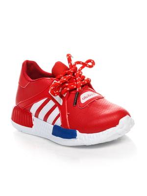 Кроссовки красные | 4412934