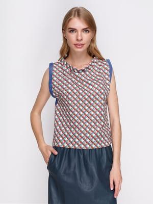 Блуза в принт | 2752328