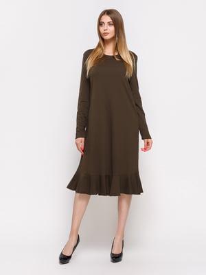 Платье цвета хаки   3270398