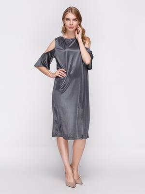 Платье серое | 3912245