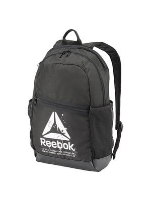 Рюкзак черный с принтом | 4441651
