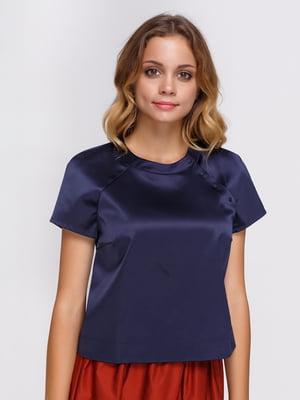 Блуза синяя | 3914059