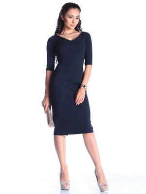 Сукня темно-синя | 4461290