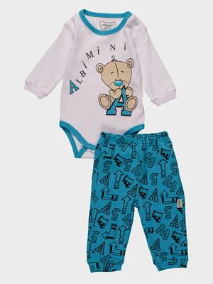 Комплект: боді і штани | 4460435