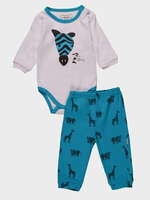 Комплект: боді і штани | 4460436