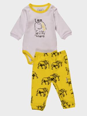 Комплект: боді і штани | 4460432