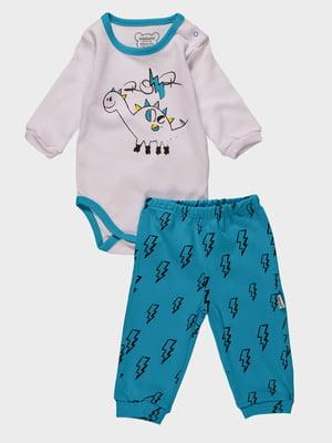 Комплект: боді і штани | 4460433