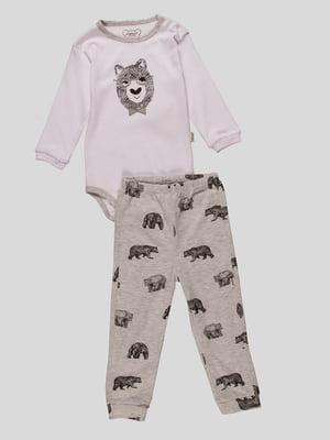 Комплект: боді і штани | 4460471