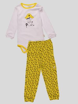 Комплект: боді і штани | 4460478