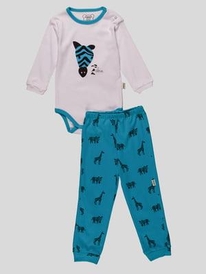 Комплект: боді і штани | 4460485