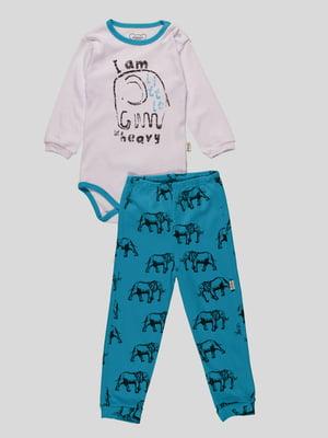 Комплект: боді і штани | 4460483