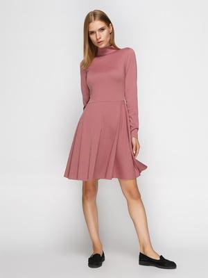 Сукня пильно-рожевого кольору | 4460419