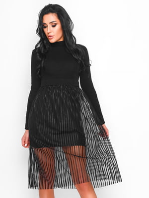 Сукня чорна - CARICA - 4463602