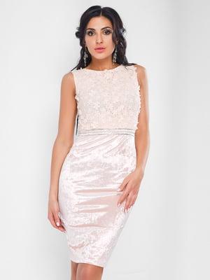 Сукня персикового кольору - CARICA - 4463640