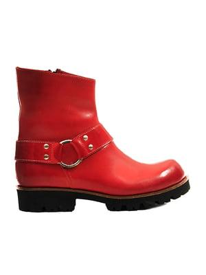 Ботинки красные | 4463397