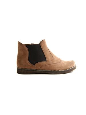 Ботинки цвета латте | 4463527