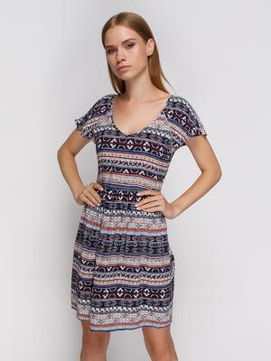 Сукня абстрактного забарвлення | 3966971