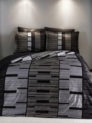 Комплект постільної білизни двоспальний (євро) | 4203597