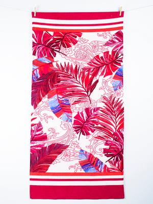 Полотенце пляжное велюровое (75х150 см) | 4209611