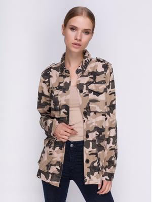 Куртка камуфляжной расцветки | 3967002