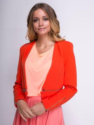 Жакет оранжевый | 3782287
