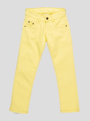 Брюки желтые | 4457169