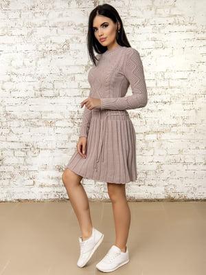 Платье цвета пудры - Palvira - 4476248