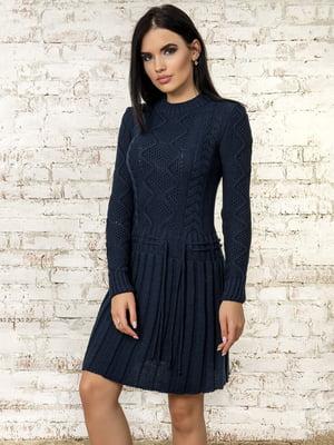 Платье темно-синее - Palvira - 4476250