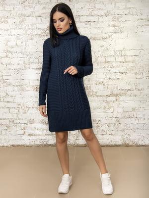 Платье темно-синее - Palvira - 4476262