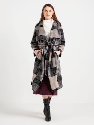 Пальто в клетку   4472614