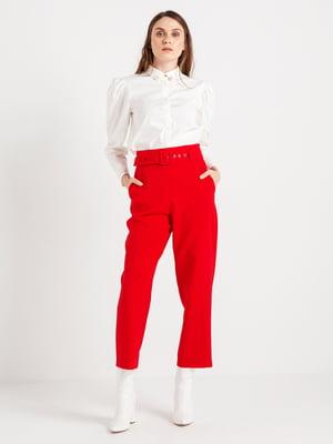 Штани червоні | 4472625
