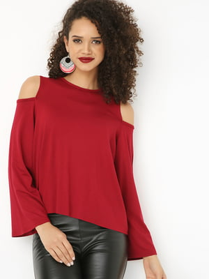 Блуза бордова | 4474863