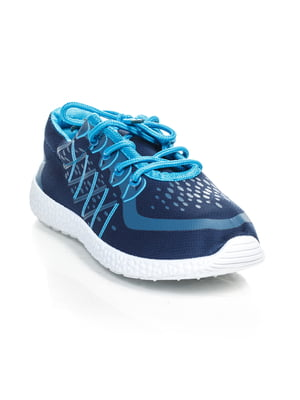 Кроссовки сине-голубые | 4463214