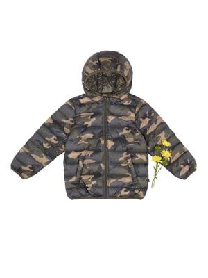 Куртка в камуфляжний принт | 4427854