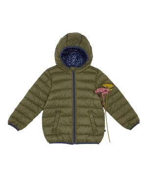 Куртка кольору хакі | 4428090