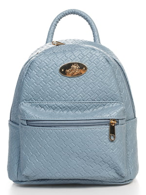 Рюкзак голубой | 4475696