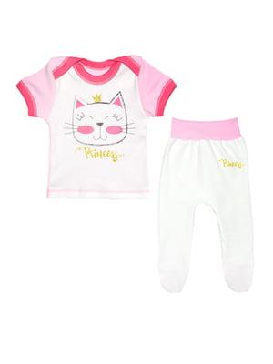 Комплект: футболка і повзунки | 4078314