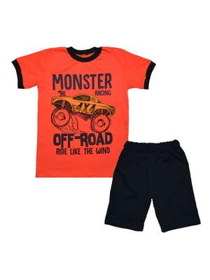 Комплект: футболка і шорти | 4078320