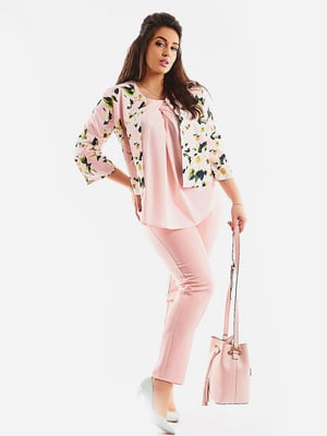 Костюм: блуза, жакет і штани | 4486844