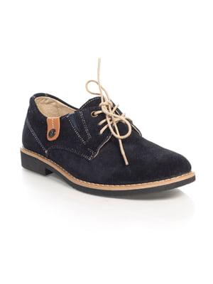 Туфли темно-синие | 4481991