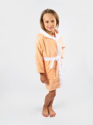 Халат персикового кольору | 4454023