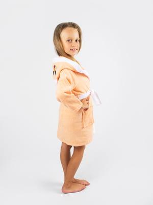 Халат персикового цвета | 4454028